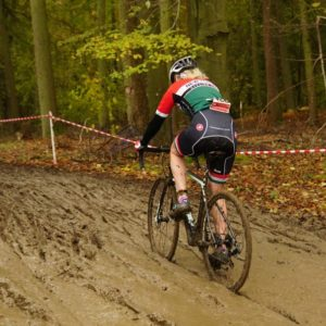 NFCC Cyclocross bike carry mud