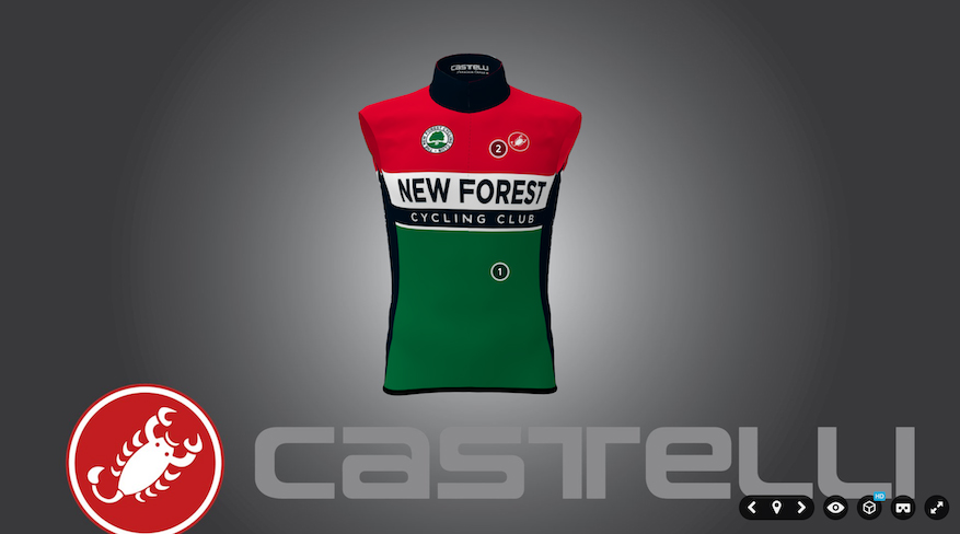 New forest cycling club kit